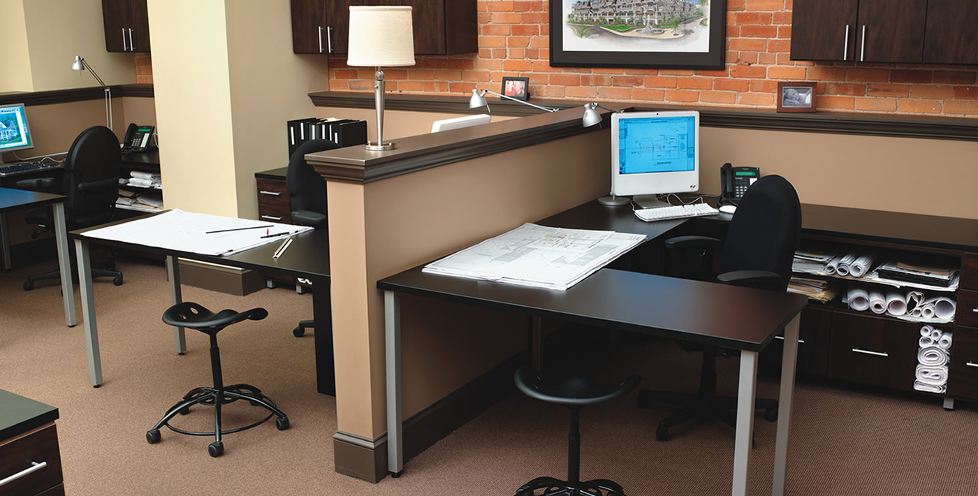 Commercial Space - nice organized desk