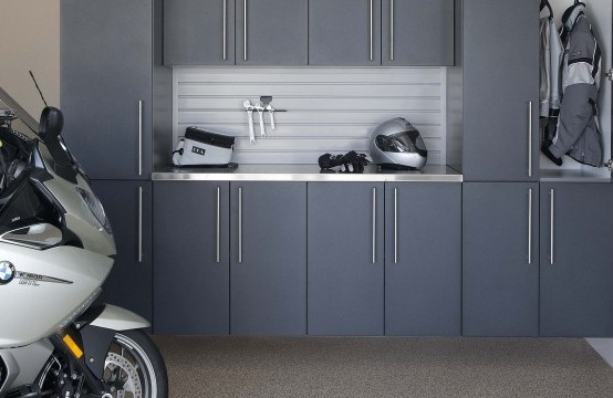 Garage Cabinets Calgary with Dirt Bikes