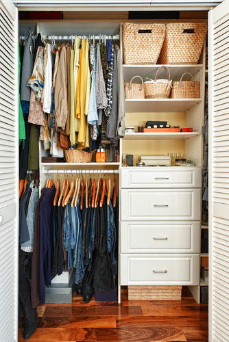 How to Organize a Multi-Purpose Closet Space - Perfect Fit Closets - Calgary Custom Closets