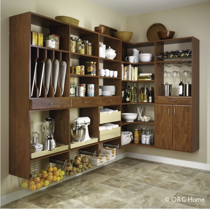 Five Steps to an Organized Kitchen Pantry- Perfect Fit Closets - Custom Closets Calgary