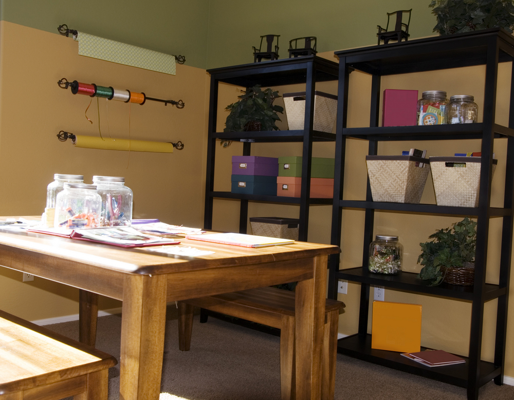 Get Your Craft Room Organized and Get Back to Your Hobbies! - Perfect Fit Closets - Custom Closet Solutions Calgary